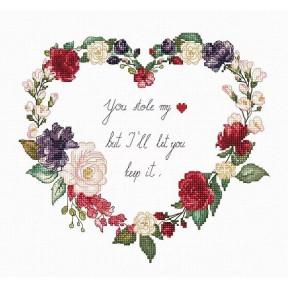 Набор для вышивки Luca-S B1162 Листья и цветы 64d37de59b1bd