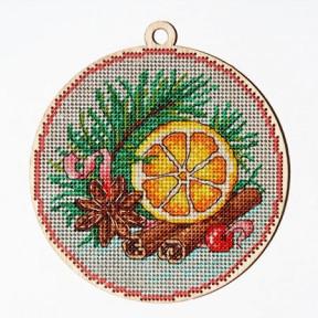Набор для вышивки крестом Alisena 5518 Новогодняя – Новогодние ароматы