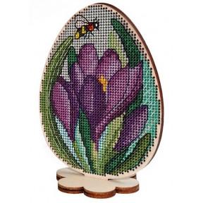Набор для вышивки крестом Alisena 5538-а Пасхальная – крокусы