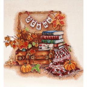 Набор для вышивки крестом Alisena 1268а Осень пришла фото