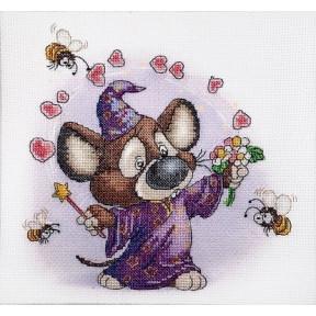 Набор для вышивки крестом Alisena 5118а Волшебник фото
