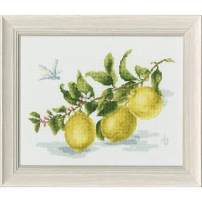 Набор для вышивки Золотое Руно ФС-006 Веточка лимона