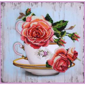 Набор для вышивания бисером Картины Бисером Р-391 Чайный дуэт 2