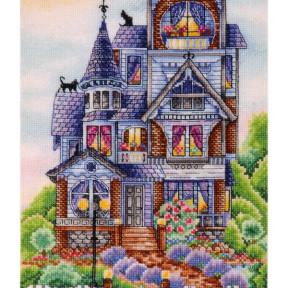 Набор для вышивки крестом Alisena 1273 Викторианский домик фото