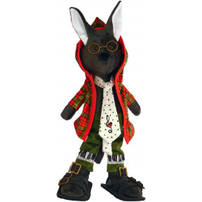 Набор для шитья мягкой игрушки ZooSapiens М3024 Маэстро волк