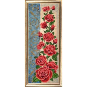 Набор для вышивания бисером Butterfly 157 Панно с розами