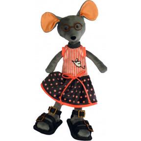Набор для шитья мягкой игрушки ZooSapiens М3028 Мышка Веселушка