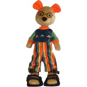Набор для шитья мягкой игрушки ZooSapiens М3029 Авто Мишка фото