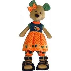 Набор для шитья мягкой игрушки ZooSapiens М3030 Мишка Малышка