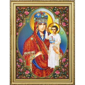 Набор для вышивания бисером Картины Бисером Р-392 Икона Призри на смирение