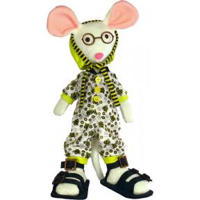 Набор для шитья мягкой игрушки ZooSapiens М3032 Мышка Коротышка
