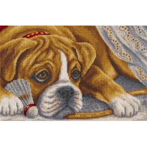 Набор для вышивки крестом Panna Ж-1541 Игрок фото