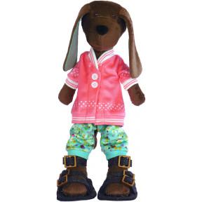 Набор для шитья мягкой игрушки ZooSapiens М3047 Песик Кожаный
