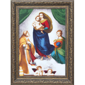 Набор для вышивки Золотое Руно МК-044 Сикстинская Мадонна