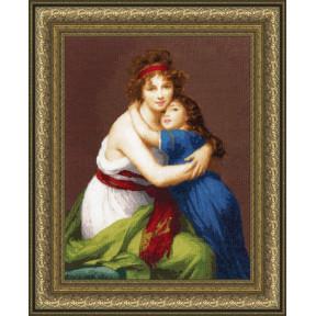 Набор для вышивки крестом Золотое Руно МК-046 Автопортрет с