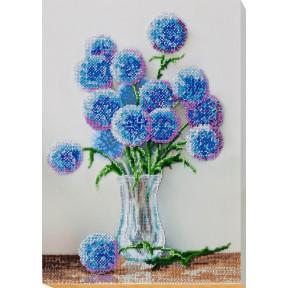 Набор для вышивки бисером на холсте Абрис Арт АВ-677 «Голубые