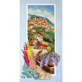 Набор для вышивания лентами Марічка НЛ-3064 Портофино