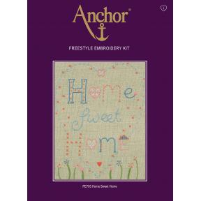 Набор для вышивания Anchor PE705 Дом Милый Дом
