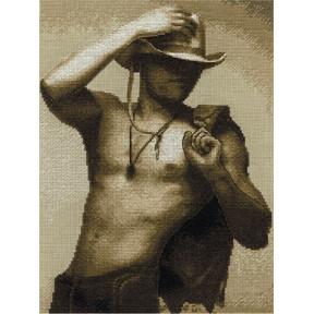 Набор для вышивки крестом Panna ЭР-1909 Маргарита