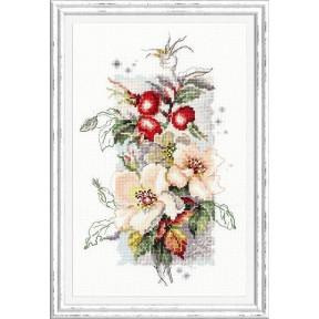 Набор для вышивки крестом Чудесная игла 100-102 Шиповник фото