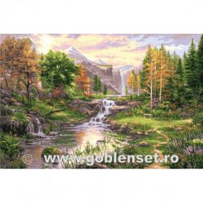 Набор для вышивания гобелен Goblenset G1087 Осенняя тишина фото
