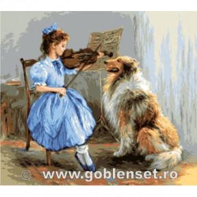 Набор для вышивания гобелен  Goblenset  G1089 Весенний рай