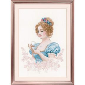 """Набор для вышивки крестом Риолис 1791 """"Чайный клуб"""""""