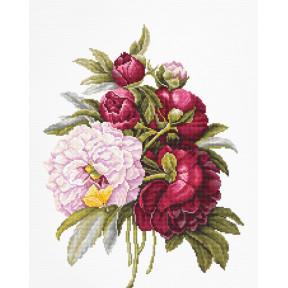 Набор для вышивки крестом Luca-S B2351 Букет с розами
