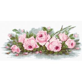 Набор для вышивки крестом Luca-S B2353 Романтические розы фото