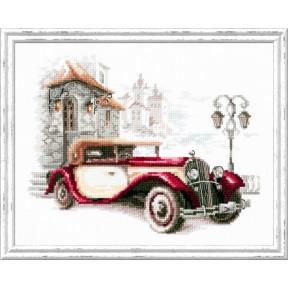 Набор для вышивки крестом Чудесная игла 110-021 Ретро-автомобиль. Бьюик