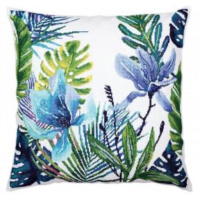 Набор для вышивки крестом RTO  CU057 Тропические листья