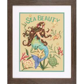 Набор для вышивки крестом Dimensions 70-35376 Sea Beauty
