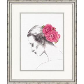 Набор для вышивки крестом Dimensions 70-35379 Floral Portrait