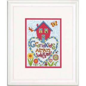 Набор для вышивки крестом Dimensions 70-65188 Grandkids