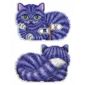 Набор для вышивки крестом МП Студия Р-402 Чеширский кот