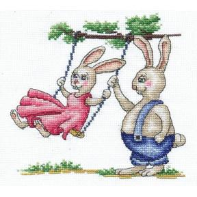 Набор для вышивки крестом Сделай Своими Руками З-36 Загородный дом