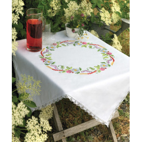 Набор для вышивания гладью  Anchor 09333 Летние цветы