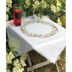 Набор для вышивания гладью Anchor 09333 Летние цветы фото