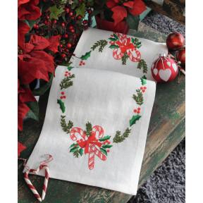 Набор для вышивания гладью Anchor 03530 Рождественские конфеты