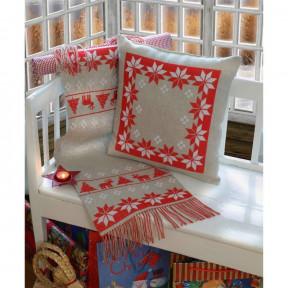 Набор для вышивания крестом Anchor 02512 Звезды (Подушка) фото
