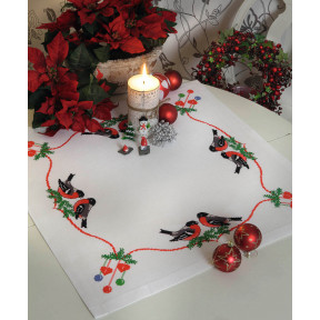 Набор для вышивания крестом Anchor 03507 Снегири и Рождество
