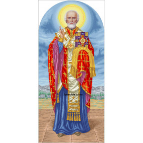 Набор для вышивания бисером БС Солес СПМ-ІЗ  Пророк Моисей (ростовой)