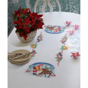 Набор для вышивания крестом Anchor 03506 Ужин для оленей