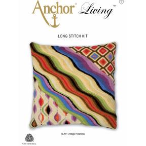 Набор для вышивания Long Stitch Anchor ALR41 Винтажный Флорентин