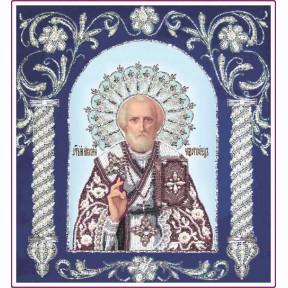 Набор для вышивания бисером Изящное Рукоделие БП-125-1 Святитель Николай