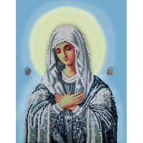 Набор для вышивания бисером Изящное Рукоделие БП-151 Богородица Тихвинская