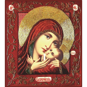 Набор для вышивания бисером Изящное Рукоделие БП-114 Богородица