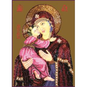 Набор для вышивания бисером Изящное Рукоделие БП-116 Богородица
