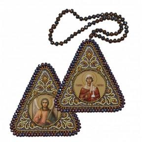 """Набор для вышивания двухсторонней иконы Нова Слобода ВХ-1205 """"Прав. Анна, мать Пресвятой Богородицы и Ангел Хранитель"""""""
