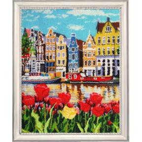 Набор для вышивания бисером Butterfly 384 Амстердам
